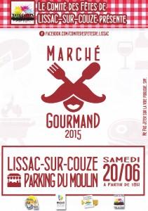 Marché gourmand au bord du lac du Causse @ Parking du Moulin de Lissac | Lissac-sur-Couze | Limousin | France