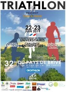 32ième Triathlon du Pays de Brive @ Lac du Causse | Lissac-sur-Couze | Nouvelle-Aquitaine | France