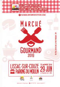 Marché gourmand au bord du lac du Causse @ Lac du Causse - Lissac