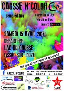 CAUSSE N'COLOR @ Lac du Causse | Lissac-sur-Couze | Nouvelle-Aquitaine | France